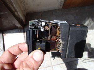 Skoda Octávia 1. leégett hátsó ablakemelő motor