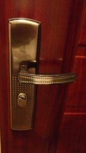 HiSec ajtó kinézete kívülről
